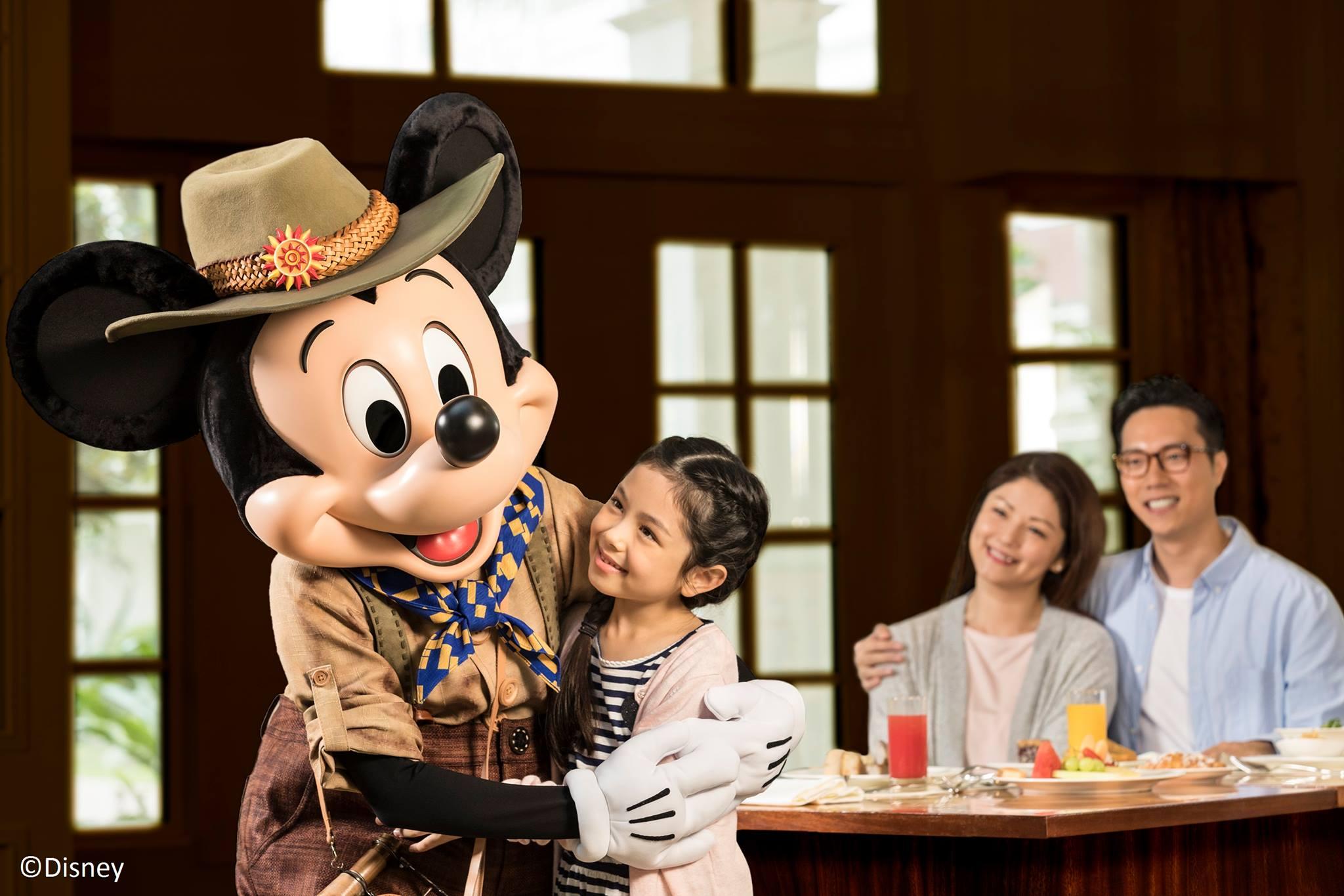 香港迪士尼探索家酒店自由行3天