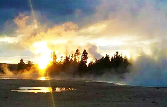 8日 拉斯維加斯, 大峽谷南緣, 羚羊彩穴, 黃石公園兩晚深度