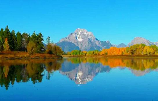 9日 拉斯維加斯, 羚羊彩穴, 包偉湖, 錫安公園, 布萊斯峽谷, 大峽谷西緣, 黃石公園, 大提頓