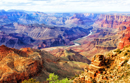 7 Days Grand Canyon South Rim, Lake Powell, Horseshoe Bend, Antelope Slot Canyon, Las Vegas, Los Angeles