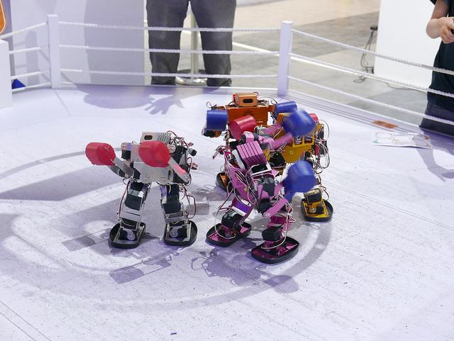 【桃園自在遊】親子同樂會。機器人夢工廠
