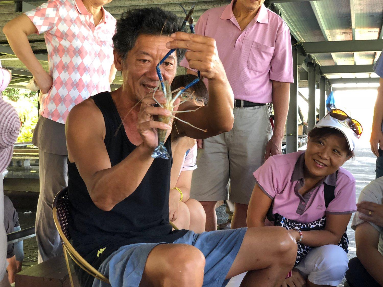 [食育酷樂園] 宜蘭蘭楊蟹莊-無毒自然泰國蝦釣蝦趣(體驗遊)