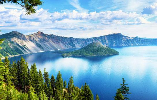 3日 拉森火山國家公園, 藍寶石湖